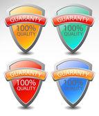 Stickers 100%. vector — Vetor de Stock