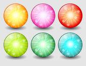 Creative buttons — Stock Vector