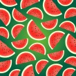 Background from watermelon — Stock Vector