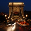 Szecheryi Chain Bridge, Budapest — Stock Photo
