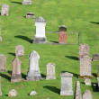 Graveyard, Melrose Abbey Scotland — Stock Photo