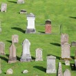 Stock Photo: Graveyard, Melrose Abbey Scotland