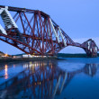 Stock Photo: Forth railway Bridge in Edinburgh