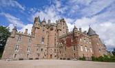 Glamis замок в шотландии — Стоковое фото