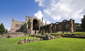 Melrose Abbey, Scotland — Stock Photo