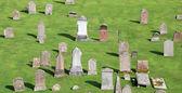 Graveyard, Melrose Abbey Scotland — Stock Photo