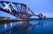 Forth railway Bridge in Edinburgh — Stock Photo