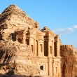 The monastery at Petra in Jordan — Stock Photo #11152594