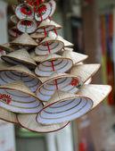 伝統的なベトナムの円錐帽子 — ストック写真