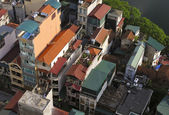 Houses in Hanoi, Vietnam — Stock Photo