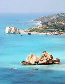 Rock of Aphrodite , Cyprus — Stock Photo
