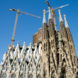 Sagrada Familia, Barcelona Spain — Stock Photo