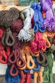 Přadénkách bavlny, vietnam — Stock fotografie