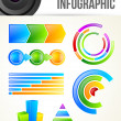Monitoring Infographic Template — Stock Vector #11059597