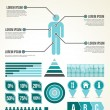 Common Infographic Template — Image vectorielle