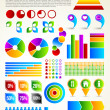 Colorful Infographic Template — Stock Vector