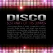 Stock Photo: Disco Party Design
