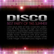 Disco Party Design — Stock Photo