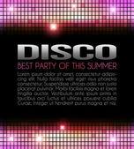 Disco Party Design — Stock Photo