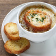 French onion soup — Stock Photo #10919198