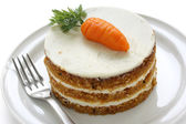 Homemade carrot cake — Stock Photo
