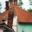 Old house roof — Stock Photo #10784073