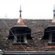 Old house roof — Stock Photo #10910445