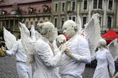 White angels — Stock Photo