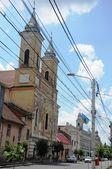 Church towers — Stock Photo