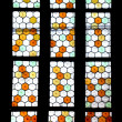 Strained-glass Window Reformat Church Cluj — Stock Photo