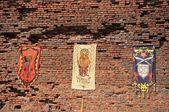 Oradea citadel wall — Stock Photo