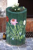 Blumen-unterstützung — Stockfoto