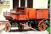 Old waggon — Stock Photo