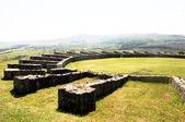 Roman amphitheatre Porolissum Moigrad — Stock Photo