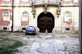 Decorated old gate — Fotografia Stock