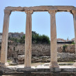 The Library of Hadrian - Athens Greece — Foto Stock