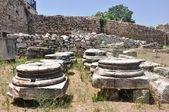 Die bibliothek des hadrian - athen griechenland — Stockfoto