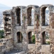 Odeon of Herodes Atticus detail - Athens Greece — Stock Photo