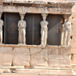 Athenian Acropolis - Porch of the Maidens - Athens Greece — Stock Photo