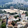 Stock Photo: View to Temple of OlympiZeus (Olympieion) - Athens Greece