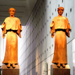 Acropolis Museum - Ancient Statues - Athens Greece — Stock Photo
