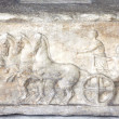 Acropolis Museum - Original Parthenon Frieze - Athens Greece — Stock Photo #11914660