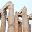 Temple of Olympian Zeus (Olympieion) detail - Athens Greece — Stockfoto