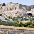 View to Athenian Acropolis - Athens Greece — Stock Photo