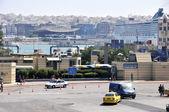 Port of Piraeus Aegean Sea (Mediterranean Sea) — Stock Photo