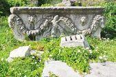 Römische agora - athen-griechenland - skulptur — Stockfoto