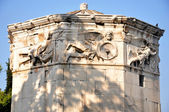 Roman Agora - Athens Greece - Horologion of Kyrrhestos (Tower of the winds) — Stock Photo