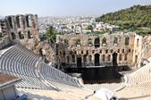 Odeon of Herodes Atticus - Athens Greece — Stock Photo