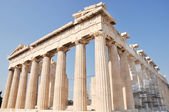 Athenian Acropolis - The Parthenon - Athens Greece — Stock Photo