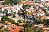View to Roman Agora - Athens Greece — Stock Photo